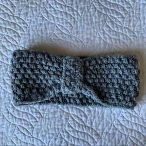Grey Winter Earmuff Headband